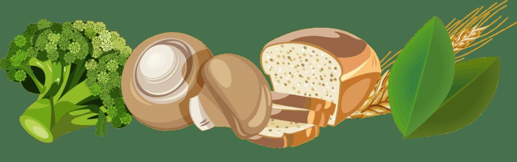vegan foods that contain vitamin b2
